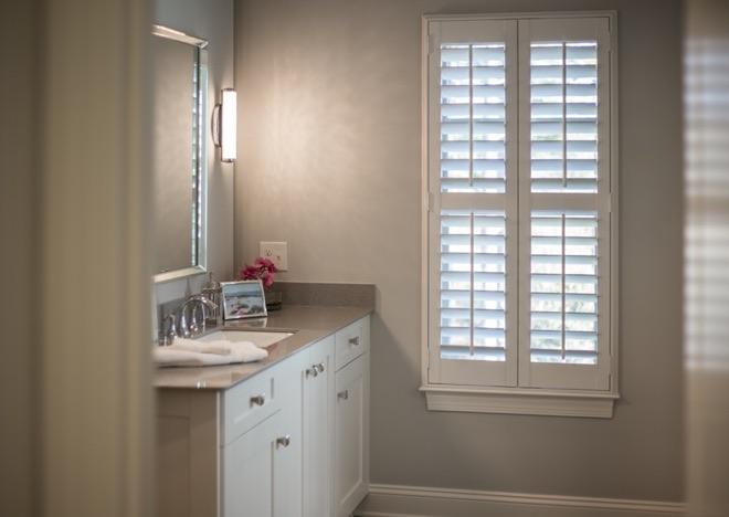 Bathroom Window Treatments Have You, Bathroom Shutter Blinds