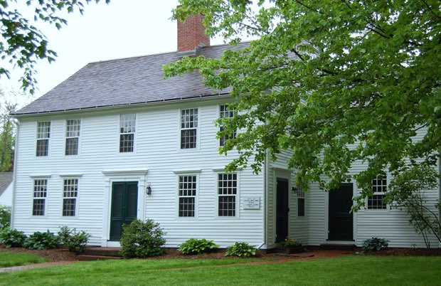 Colonial home