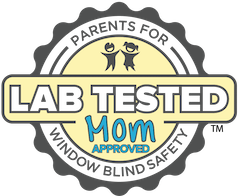 Lat tested Mom logo