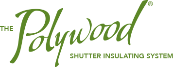 Polywood shutter insulating system logo