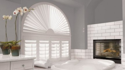 Shutters for Uniquely-Shaped Windows in Gainesville
