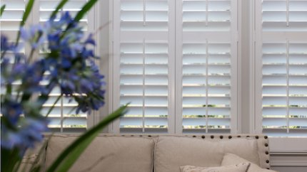 Using Divider Rails on Plantation Shutters